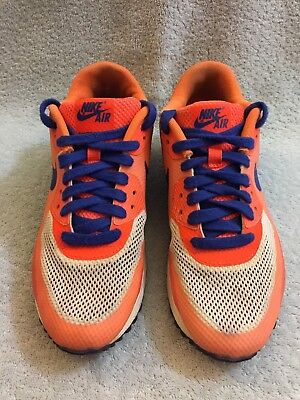 in stock aed8f 7e388 Nike Air Max 90 HYPERFUSE PREMIUM 454460-100 Hyper Blue Citrus Crms Size 7.5