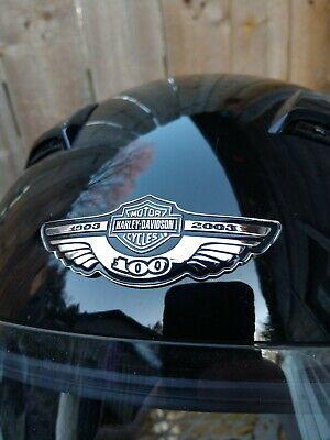 HARLEY-DAVIDSON 100 ANNIVERSARY HELMET MOTORCYCLE