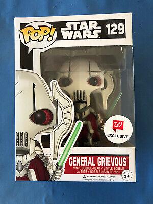 GENERAL GRIEVOUS FUNKO POP #129 Star Wars WALGREENS EXCLUSIVE HTF FREE SHIP !!!