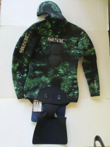 SEAC Tattoo Camo Spearfishing Wetsuit Jacket