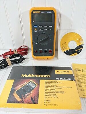 Fluke Md87s3 Series 3 Digital Multimeter Voltage Meter Matco Tools Wmanual