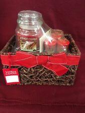 Yankee Candle SPARKLING CINNAMON Gift Basket ~ | eBay