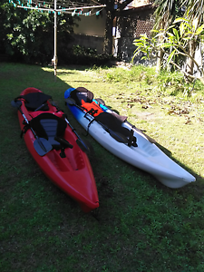 Two double SOT kayak Stockton Newcastle Area Preview