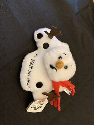 Ganz Melting Sentiment Snowman