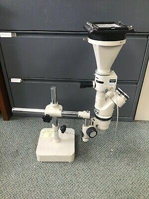 Nikon Smz-10 Stereo Photo Binocular Microscope W Pfx Attachment