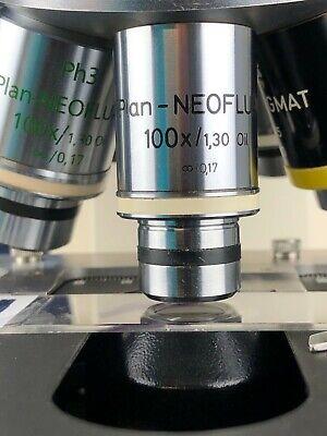 Zeiss Plan-neofluar 100x1.30 Oil 0.17 Microscope Objective Rms 105 Refund