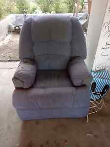 x2 blue recliner arm chairs. Maryland Newcastle Area Preview