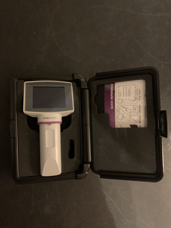 King Vision Video Laryngoscope With Case 30 Day Warranty