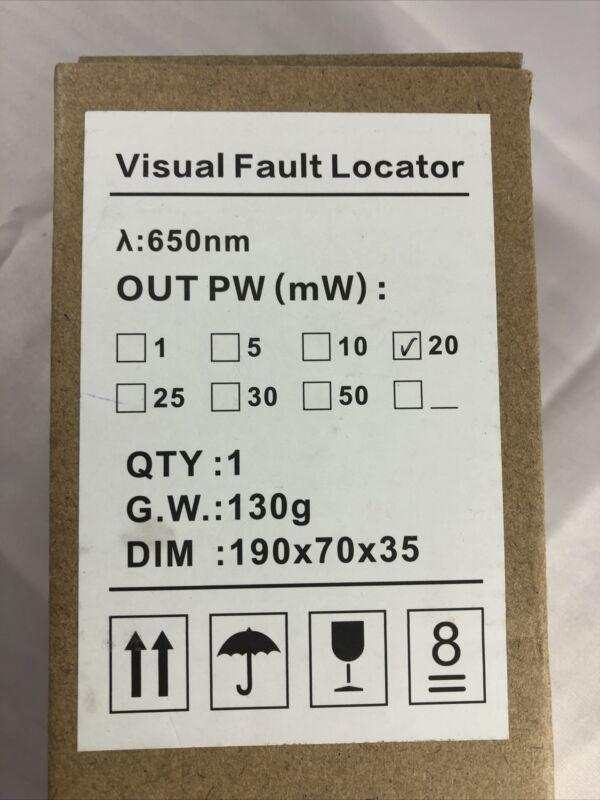 J-Deal Visual Fault Locator 20mW Fiber Optic Tester Meter 650nm