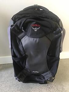 60L Meridian Osprey rolling suitcase/ backpack Dunsborough Busselton Area Preview