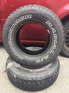 Rough rider radial A/T tires