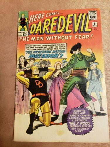 Daredevil #5, 1964, 1st Appearance of Matador