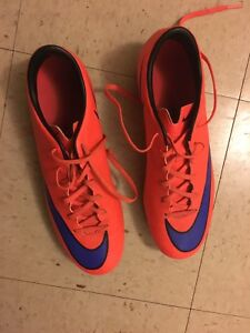 Size 9 soccer cleats