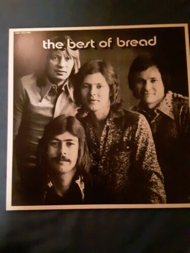 1973 BREAD - THE BEST OF BREAD, FIRST EDITION, NEAR MINT CONDITION  - $10.00