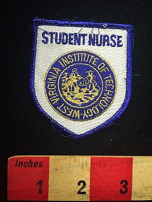 West Virginia Institute Of Technology Medical Patch STUDENT NURSE 64K5