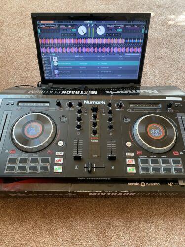 Numark Mixtrack Platinum 4-Deck DJ Controller