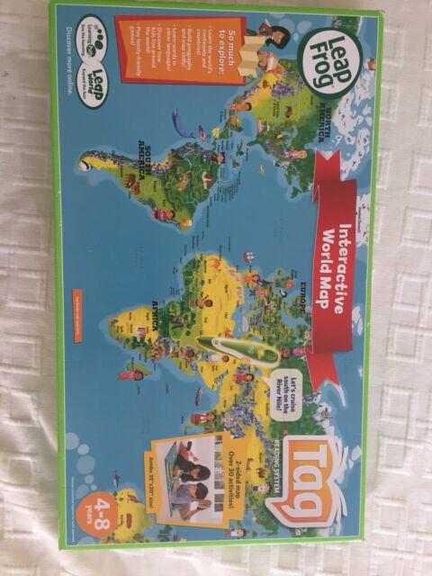 Leap Frog Interactive World Map Toys Indoor Gumtree Australia