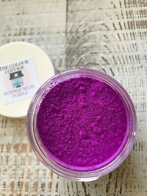 INTENSE NEON Purple 1 oz Jar for Epoxy Resin, Cosmetics, Soap Making 1 Oz Purple Makeup