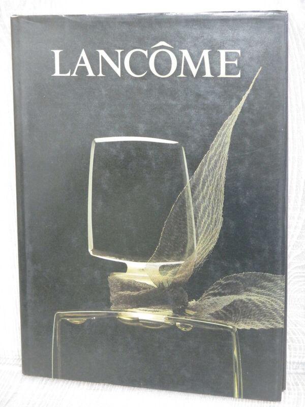 LANCOME Art Fan Design Photo Book Perfume Bottle 1985 Fashion Mode