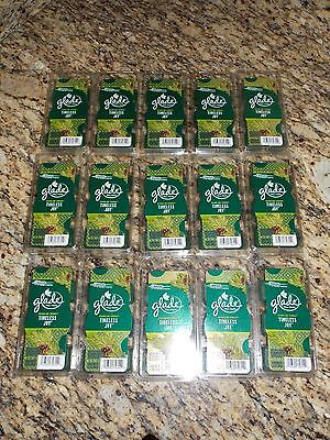 -  Limited Edition GLADE TIMELESS JOY SPRUCE WAX MELTS~ 15 packs= 90 TOTAL