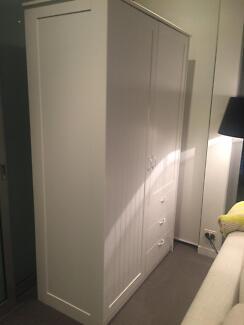 Wardrobe- MUSKEN IKEA Excellent Storage