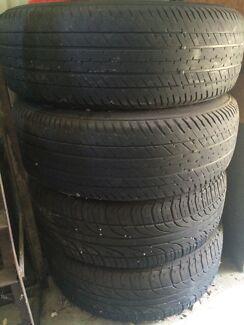 Mitsubishi/ford wheels+tyres  Rockingham Rockingham Area Preview