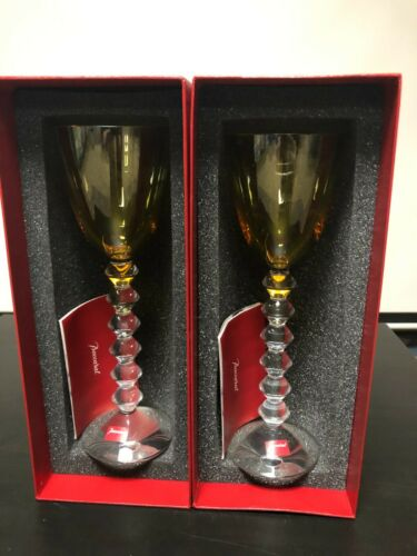 Baccarat wine glasses - Pair