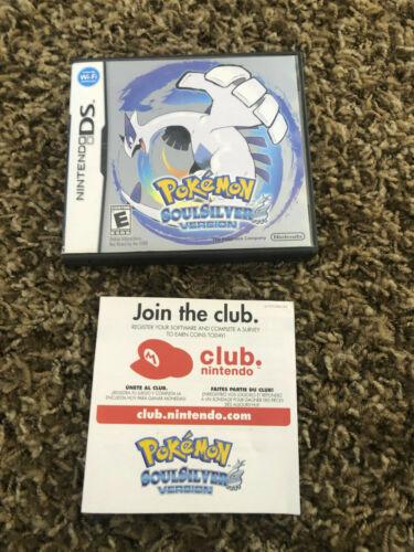 Pokemon Soul Silver Version Nintendo DS Case Only NO GAME