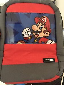 Mario backpack for Nintendo DS