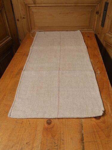 Antique European Feed Sack GRAIN SACK Red Stripe # 10468