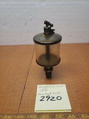 Vintage Glassbrass Oiler 212dia