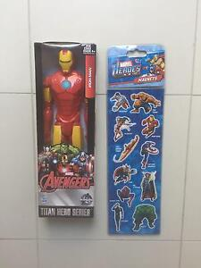 Brand New Iron Man & Marvel Heroes Magnets Hectorville Campbelltown Area Preview