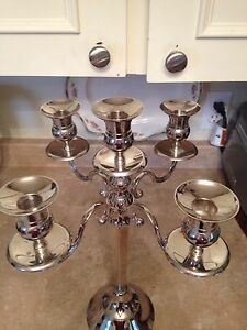 Beautiful silver candelabra Kingston Kingston Area image 3