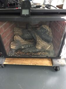 Insta Flame propane insert fireplace