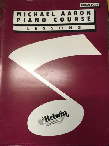 Michael Aaron Piano Course Grade 4