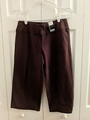 New York & Company Women's Spring Street Crop Pants Brown Small
