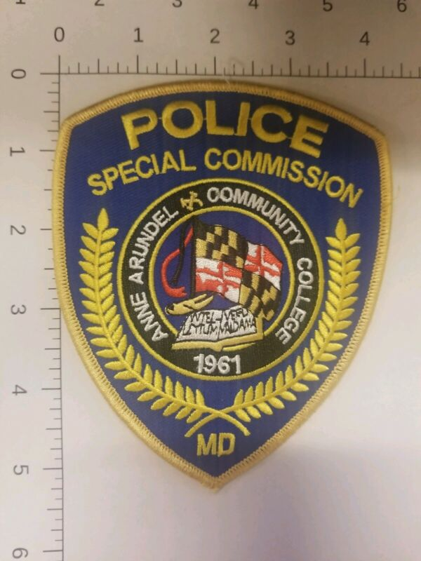 Special Commission Police Anne Arundel Community College Maryland Patch
