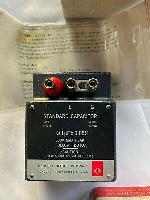 Genrad General Radio 1409-t Standard Capacitor 0.1uf 0.05 Mint W Box