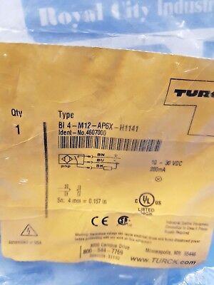 Turck Bi4-m12-ap6x-h1141 Proximity Switch