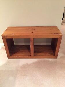 solid pine TV bench table Meadowbank Ryde Area Preview