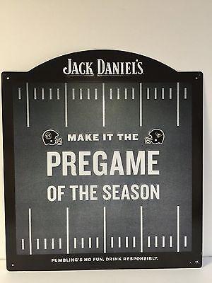 Jack Daniel's vs Tennessee Honey Tin Metal Sign - NEW (AS/IS) F/Sh. 17.5 X 15.75