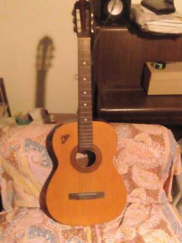 Guitar EKO Parlor P2 Years 70' Trowel And Handle Maple Flamed Very Nice