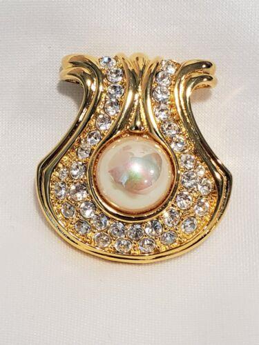 Nolan Miller Portofino Pendant Faux pearl crystal encrusted PENDANT ONLY