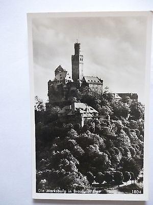 Ansichtskarte Marksburg in Braubach Rh.