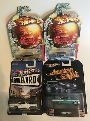 Hot Wheels 1958 Ford Edsel Special Edition Lot