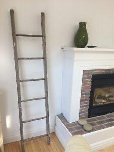 Antique Decorative Painters Ladder