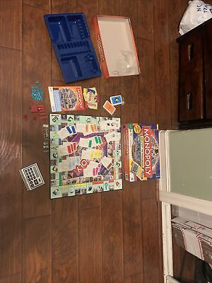 Monopoly Electronic Banking Here & Now The World Edition Board Game