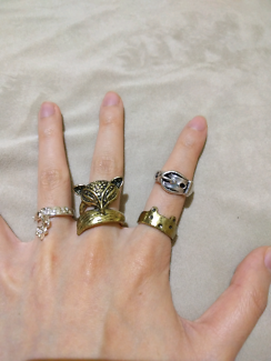 Assorted Unique RINGS - all brand new