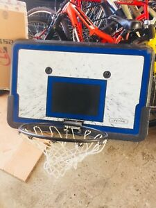 Basket Ball net and board $25