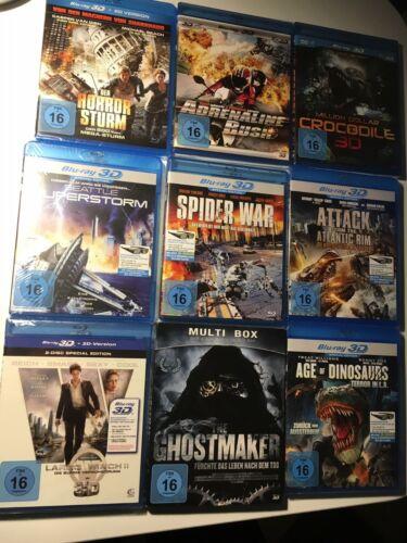 30x 3D Blu-ray + Filme Paket + Sammlung + 3D Riesenpaket + NEU/OVP